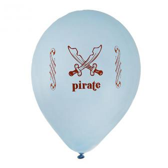 Ballon de baudruche Pirate Pastel