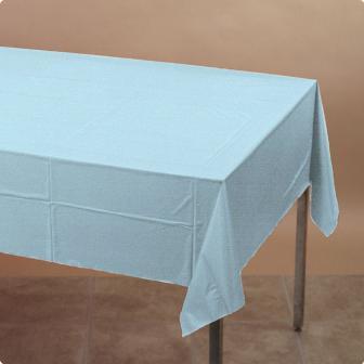 Nappe plastique bleu ciel