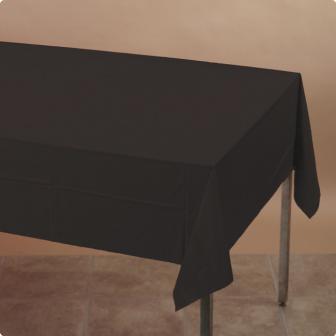 Nappe plastique noir