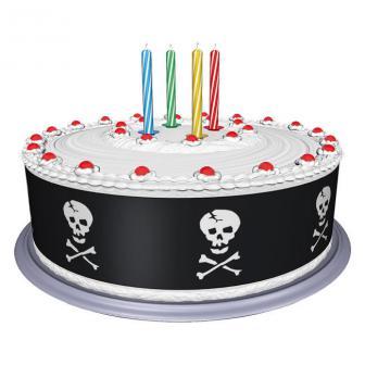 Tour décoratif en sucre gâteau pirate